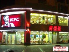 肯德基进入中国市场