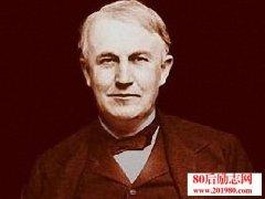 爱迪生发明电灯的故