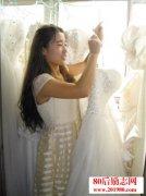唐山女大学生拍婚纱
