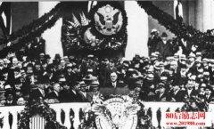 美国总统罗斯福就职