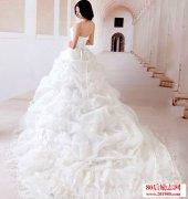 描写婚纱的句子