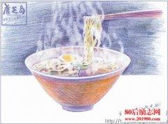 一碗汤面的故事