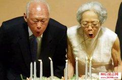 李光耀和妻子柯玉芝