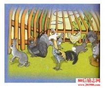 鸡和兔子共15只,土