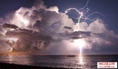 关于描写雷雨的好词