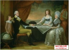 华盛顿和夫人玛莎的