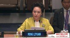 <b>彭麻麻出席联合国活动全程英文演讲稿和视频</b>