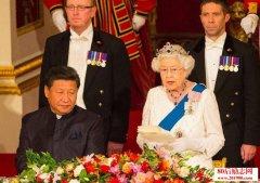 英国女王在习近平访