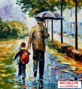 贫困家庭父亲的感动