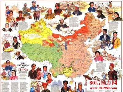 中国各省人血统来源