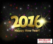再见2015,你好2016!