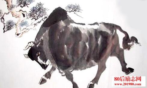 富人送了穷人一头牛