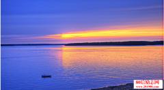 赤龙湖之春,描写湖