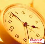 人生时钟 你现在几