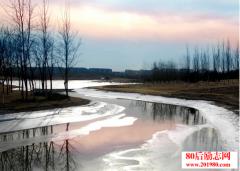 人生是条河,深浅都