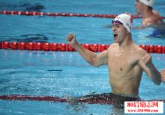 中国游泳队引领奥林