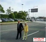 潘际銮院士和太太李