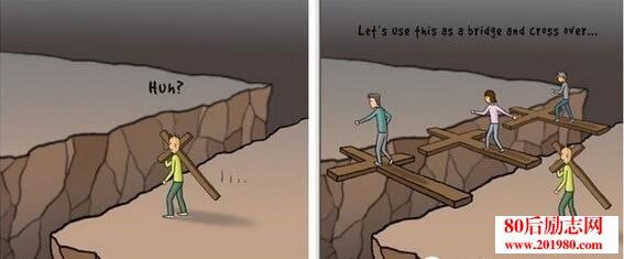 人生是沒有捷徑的,有些黑暗,只能自己穿越