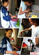 <b>坚强的励志故事:江西奉新15岁小女孩坚强面对苦难</b>