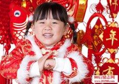 春节带孩子去拜年,