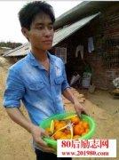 <b>广西博白县小伙返乡种植沙糖桔,在家创业实现年收入20万</b>