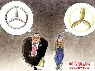 穷人和富人的思维区别:穷人学技术,富人学心术!