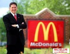 麦当劳总裁兼CEO查理
